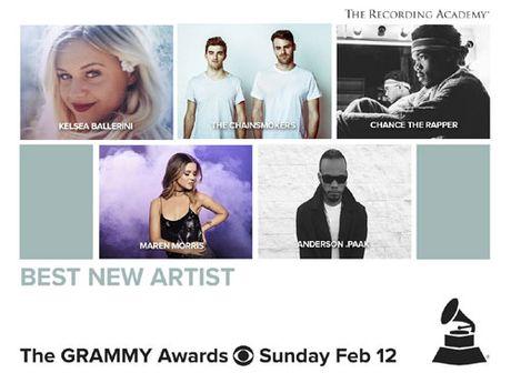 Truyen hinh truc tiep Le trao giai 'Grammy 2017' tren VTV6 - Anh 4
