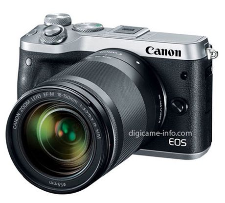 May anh Canon EOS M6 he lo anh that truoc them ra mat - Anh 1