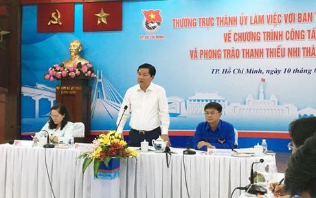 Bi thu TPHCM Dinh La Thang goi y can bo Doan tuyen truyen qua Facebook - Anh 1