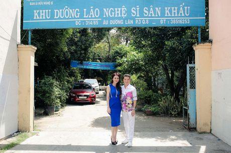 Mr. Dam cung Hoa hau My Van doi nang di lam tu thien - Anh 1