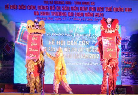 Le hoi den Con duoc vinh danh Di san van hoa phi vat the quoc gia - Anh 2