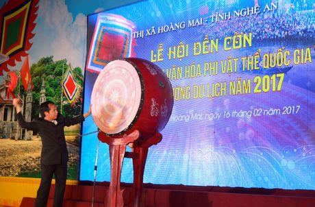 Le hoi den Con duoc vinh danh Di san van hoa phi vat the quoc gia - Anh 3