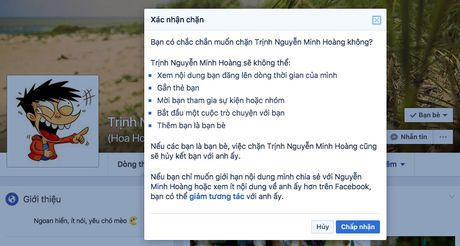 Lam the nao de chan ai do tren Facebook? - Anh 4
