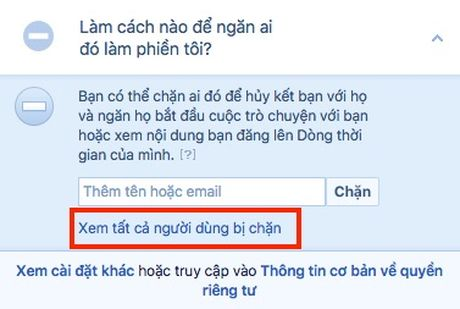 Lam the nao de chan ai do tren Facebook? - Anh 8