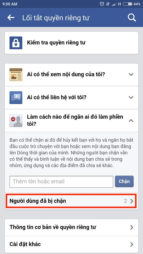 Lam the nao de chan ai do tren Facebook? - Anh 9
