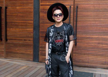 Dam Vinh Hung va Duong Trieu Vu than thiet o su kien - Anh 7