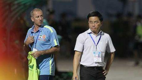 Noi bo U19 HAGL 'noi song' vi tran thua U19 Myanmar - Anh 1