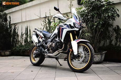 Can canh Honda Africa Twin gia 700 trieu tai Ha Noi - Anh 1