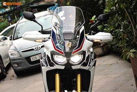 Can canh Honda Africa Twin gia 700 trieu tai Ha Noi - Anh 3