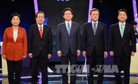 Mot ung cu vien Tong thong Han Quoc xin rut khoi cuoc dua - Anh 1