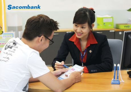 Sacombank hoan HDCD vi chua hoan tat chuan bi nhan su - Anh 1