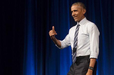 Obama sap phat bieu lan dau truoc cong chung ke tu khi Trump nham chuc - Anh 1
