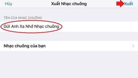 Huong dan cach cai nhac chuong iPhone truc tiep tren may - Anh 13