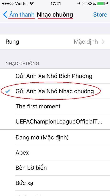 Huong dan cach cai nhac chuong iPhone truc tiep tren may - Anh 14