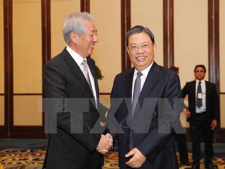 Singapore cam ket thuc day phat trien quan he ASEAN-Trung Quoc - Anh 1