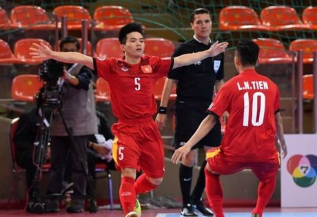 U20 Viet Nam khoi dau hoan hao tai VCK U20 Futsal chau A - Anh 1