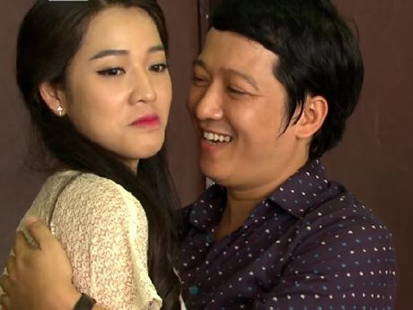 Truong Giang 'qua tron' voi ban dien nu, Nha Phuong co lo au? - Anh 8