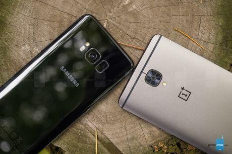 Samsung Galaxy S8 so ke cung 'ke huy diet' OnePlus 3T - Anh 5