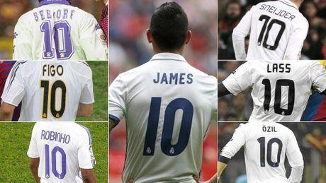 James ra di, de lai cau hoi ve chiec ao so 10 cua Real Madrid - Anh 1