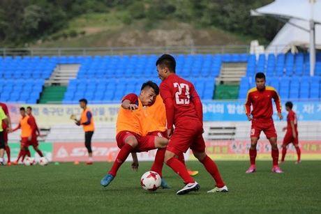 U20 Viet Nam: Ren bong ngan, quyet gianh 3 diem tu New Zealand - Anh 1
