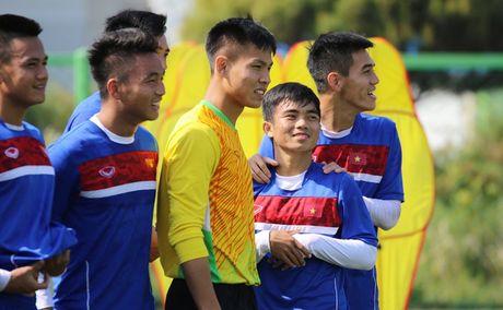 U20 Viet Nam tap tha long, thu gian tinh than truoc gio chot quan - Anh 2