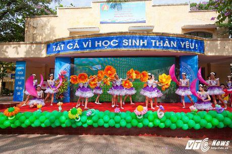 Le be giang ngap tran cam xuc cua hoc sinh Ha thanh - Anh 10
