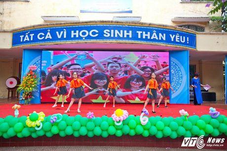 Le be giang ngap tran cam xuc cua hoc sinh Ha thanh - Anh 8