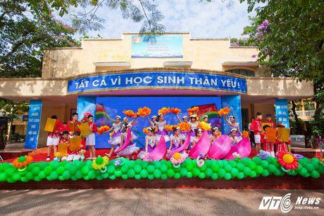 Le be giang ngap tran cam xuc cua hoc sinh Ha thanh - Anh 9