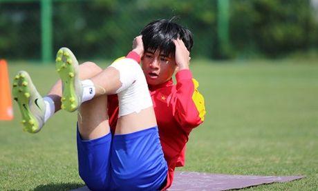 Thay doi nhan su U20 Viet Nam tham du World Cup 2017 - Anh 1