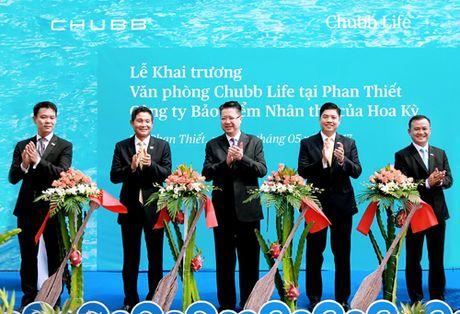 Chubb Life Viet Nam khai truong Phong giao dich tai thanh pho Phan Thiet - Anh 1