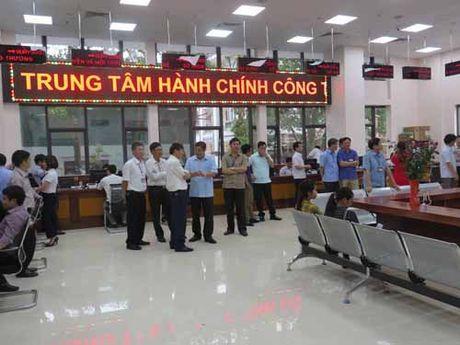 Bac Ninh: Dua Trung tam Hanh chinh cong vao hoat dong - Anh 1