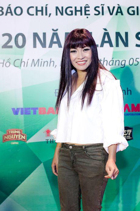 Mr Dam tranh cham tran Phuong Thanh khi du chung su kien - Anh 2