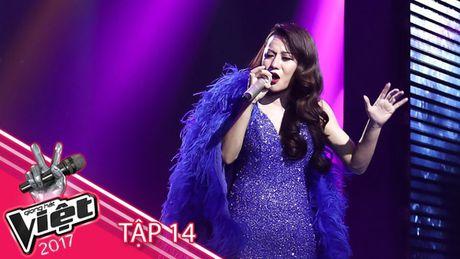 'Giat minh' khi dat len ban can 'Tro dua tao hoa' cua Huong Giang Idol va Huyen Dung The Voice - Anh 1