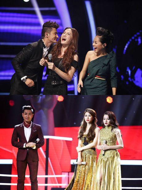 'Giat minh' khi dat len ban can 'Tro dua tao hoa' cua Huong Giang Idol va Huyen Dung The Voice - Anh 2