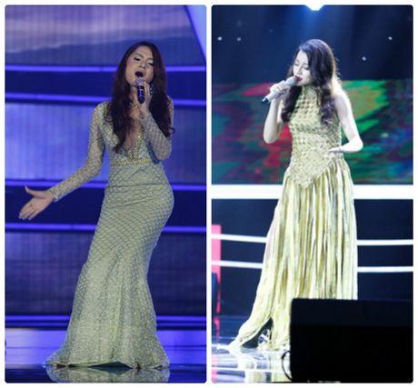 'Giat minh' khi dat len ban can 'Tro dua tao hoa' cua Huong Giang Idol va Huyen Dung The Voice - Anh 3