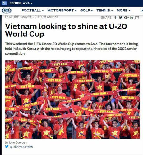 Bao chi chau A tin U20 Viet Nam se gay soc o World Cup - Anh 1