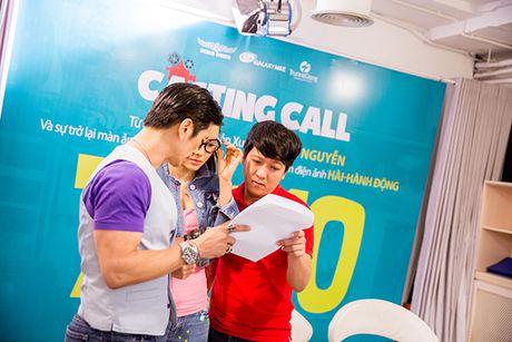 Truong Giang 'hanh'Jolie Phuong Trinh 'toi ben' tai buoi casting phim moi - Anh 1
