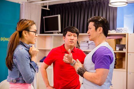 Truong Giang 'hanh'Jolie Phuong Trinh 'toi ben' tai buoi casting phim moi - Anh 2