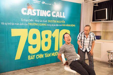 Truong Giang 'hanh'Jolie Phuong Trinh 'toi ben' tai buoi casting phim moi - Anh 3