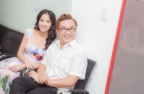 Truong Giang 'hanh'Jolie Phuong Trinh 'toi ben' tai buoi casting phim moi - Anh 4