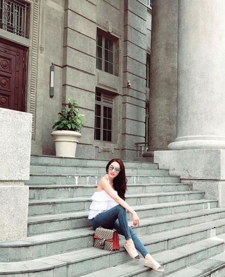 Bao Thy di Singapore 'nap lai nang luong' sau dang quang The Remix - Anh 2