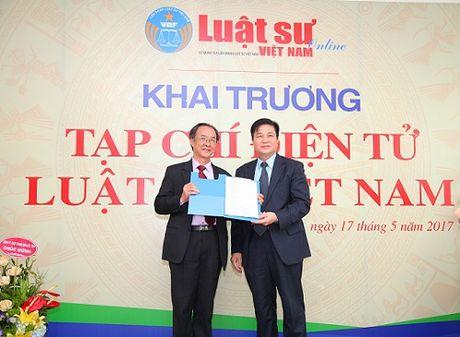 Khai truong Tap chi dien tu Luat su Viet Nam - Anh 1