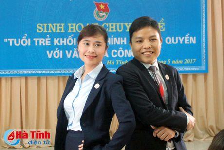 Tuoi tre Khoi Noi chinh - Chinh quyen voi van hoa cong so - Anh 1