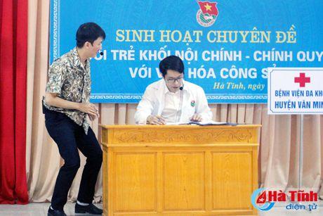 Tuoi tre Khoi Noi chinh - Chinh quyen voi van hoa cong so - Anh 4