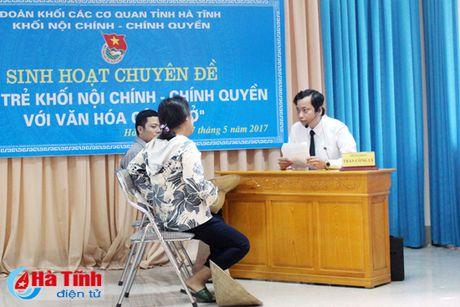 Tuoi tre Khoi Noi chinh - Chinh quyen voi van hoa cong so - Anh 5