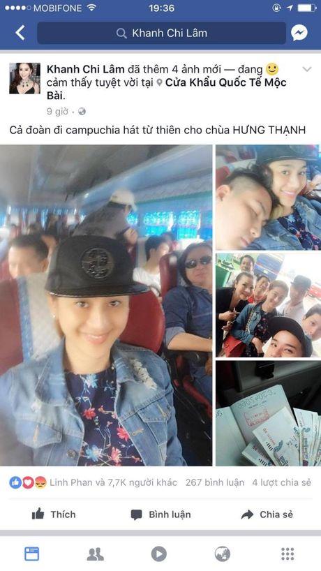 Dang anh di lam tu thien, Lam Khanh Chi bi nhan loi nguyen rua khong phat nao chung - Anh 1