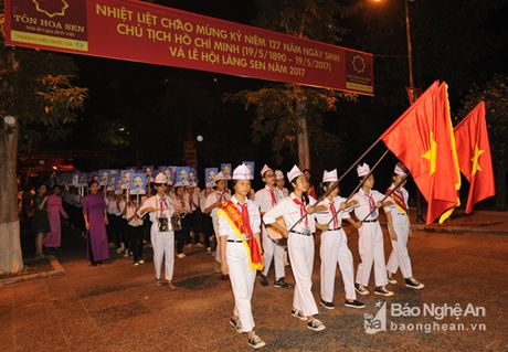 Khai mac Le hoi Lang Sen nam 2017 - Anh 4