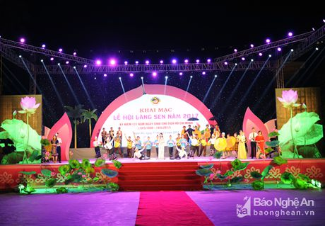 Khai mac Le hoi Lang Sen nam 2017 - Anh 7