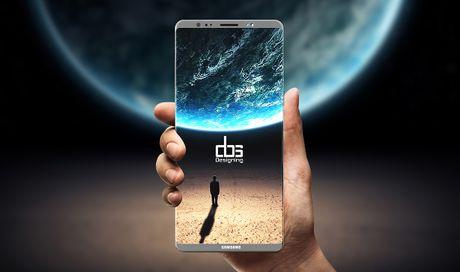 Galaxy Note 8 va iPhone 8 quyet canh tranh ngoi vi smartphone man hinh lon nhat - Anh 3