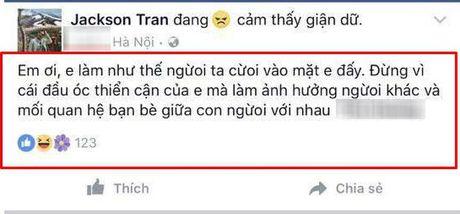 Ha Lade to thieu gia nghi bi a hau Huyen My 'tha thinh': 'Hop sua con chang mua noi cho con' - Anh 3